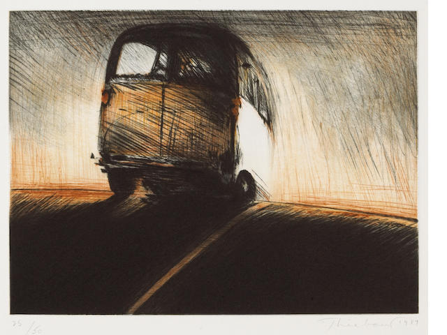 Wayne Thiebaud (American, born 1920); Van;