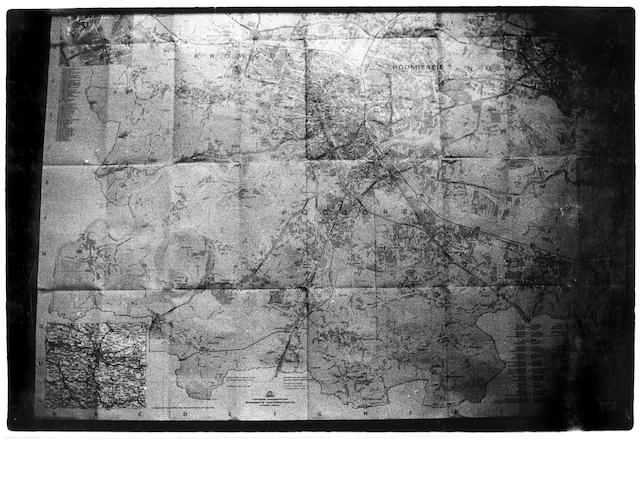 Zoe Leonard (American, born 1961); Map of Poland;