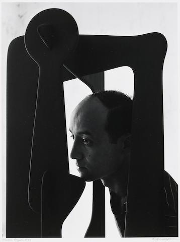 Arnold Newman (American, 1918-2006); Isamu Noguchi, N.Y.C.;