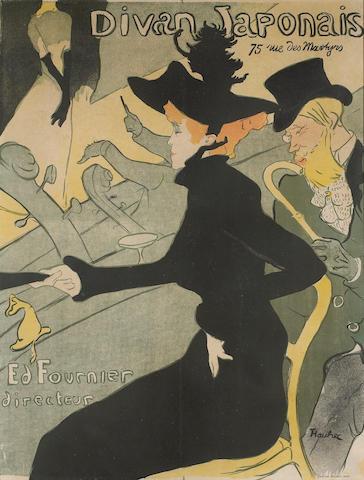Henri de Toulouse-Lautrec (French, 1864-1901); Divan Japonais;