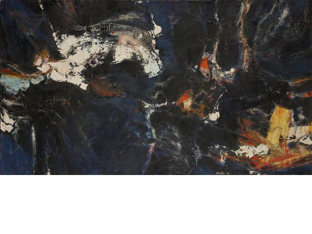 Douglas Huebler (American, 1924-1997) Untitled, 1959 30 3/4 x 54in (78 x 137cm)