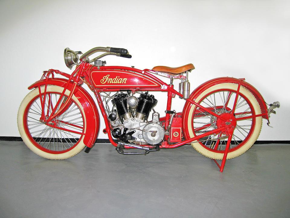 1923 Indian 61ci Big Chief Engine no. 91V154