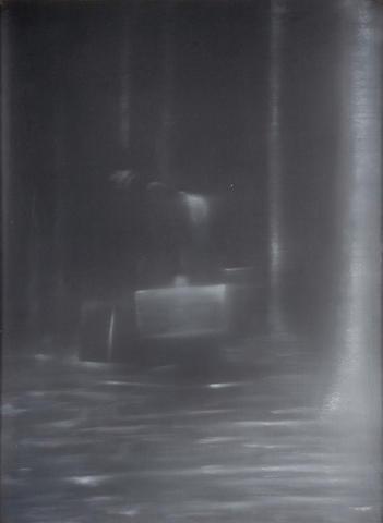 Troy Brauntuch (American, born 1954) Untitled, 1991 (triptych) each 26 x 19in (66 x 48cm)