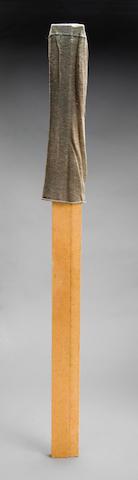 Carl Andre (American, born 1935) Socratic Love, 1988 40 x 2 5/8 x 7/8in (101.6 x 6.6 x 2.2cm)