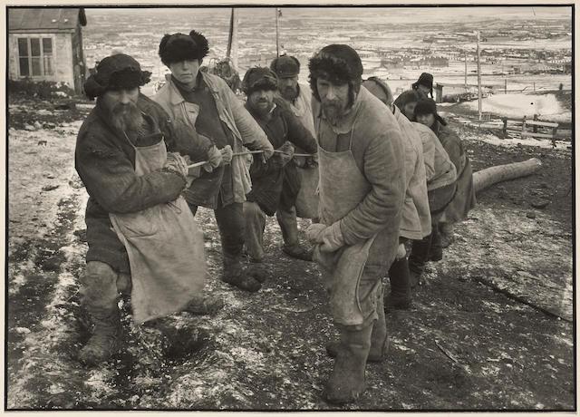 Margaret Bourke-White (American, 1904-1971); Soviet Workers, USSR;