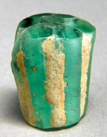 Trapiche Emerald Crystal (var. Beryl)
