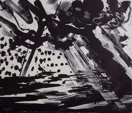 Peter Alexander (American, born 1939) Chula Vista I, 1981 30 1/2 X 35in (77.5 x 89cm)