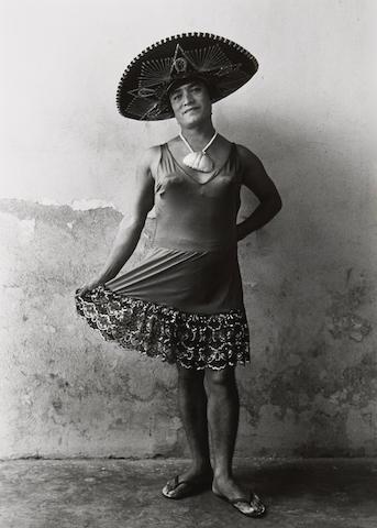 Graciela Iturbide (Mexican, born 1942); Magnolia, Juchitán, Oaxaca;