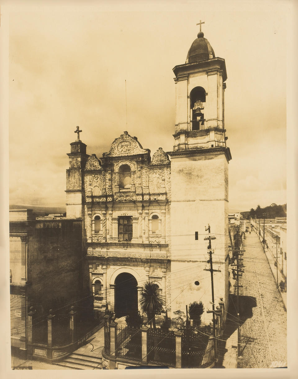 Guillermo Kahlo (German, 1872-1941); Mexico & Chapultepec, Vol. XI;