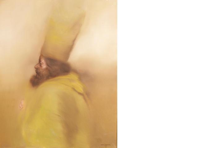 Rafael Coronel (Mexican, born 1932) Perfil VIII 39 1/2 x 31 1/2in (100 x 80cm)