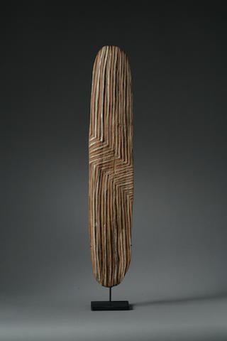 An Australian Aboriginal shield