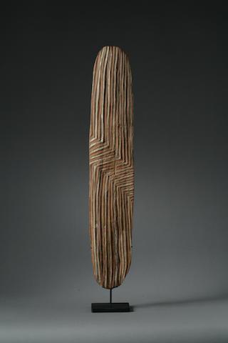 An Australian Aboriginal shield