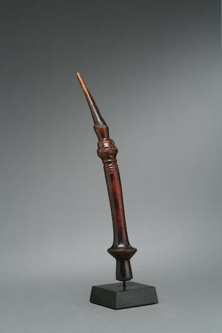 A Kuba/Dengese flywhisk handle