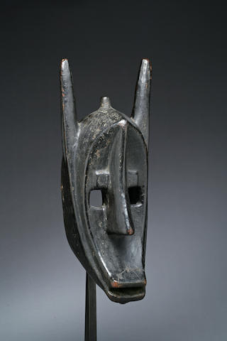 A superb Bamana Kore Society mask