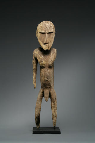 A standing male figure