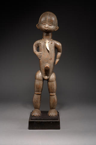 A Dan male figure