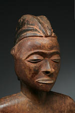 A Pende female figure