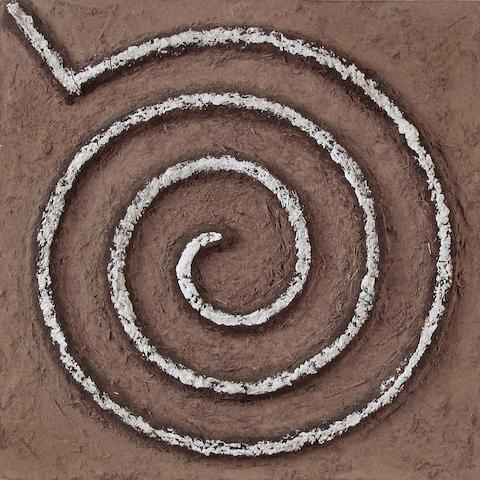 Marcos Grigorian (Iranian, 1925-2007) Spiral, 1967 20 x 20in (50.8 x 50.8cm)