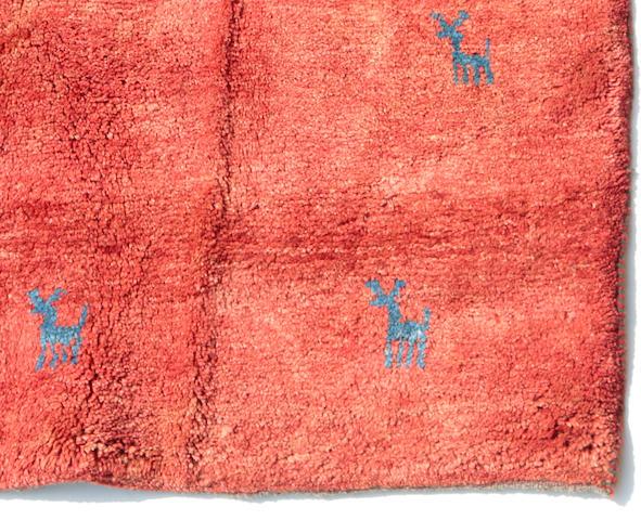 A Gabbeh carpet