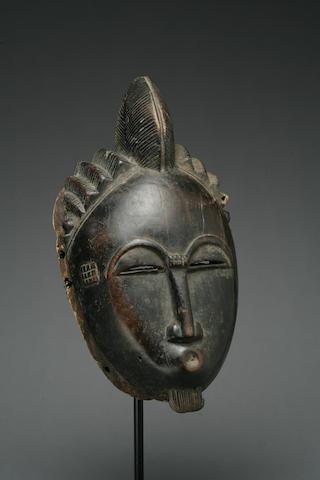 A Baule facemask