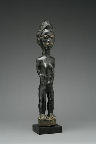 A Baule figure
