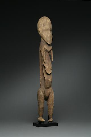 A Karawari figure