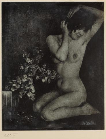 Frantisek Drtikol (Czech, 1883-1961); Akt II;