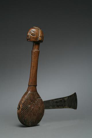 A Luba chief's axe