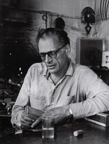 Inge Morath (Austrian, 1923-2002); Arthur Miller, Roxbury, Connecticut;