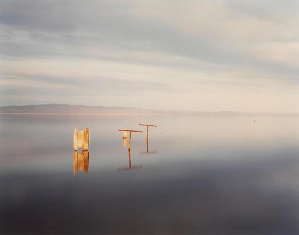 Richard Misrach (American, born 1949); Clothesline, Salton Sea;