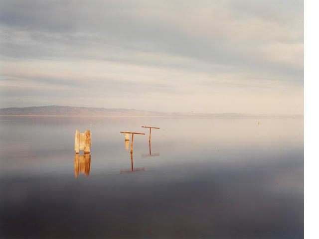 Richard Misrach (American, born 1949); Clothesline, Salton Sea;