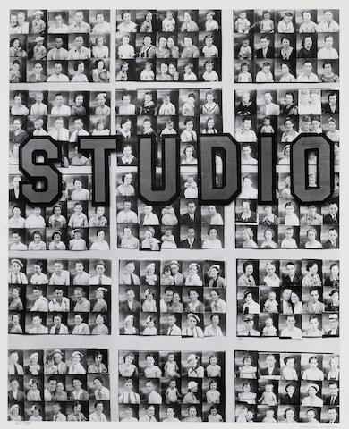 Walker Evans (American, 1903-1975); Penny Picture Display, Savannah;