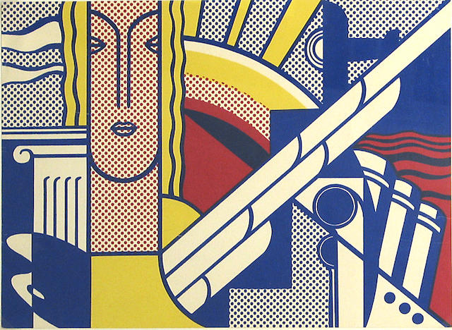 Roy Lichtenstein (American, 1923-1997); Modern Art Poster;