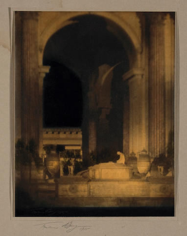 Francis Joseph Bruguière (American, 1879-1945); Altar before Rotunda, Palace of the Fine Arts, Panama Pacific International Exposition;