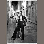 Helmut Newton (German, 1920-2004); Rue Aubriot, Paris;