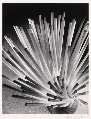 Ruth Bernhard (American, 1905-2006); Straws;