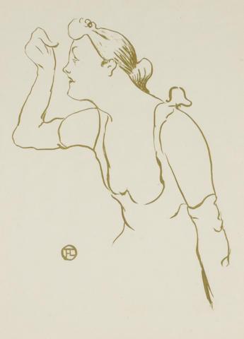 Henri de Toulouse-Lautrec (French, 1864-1901); Paula Brébion;