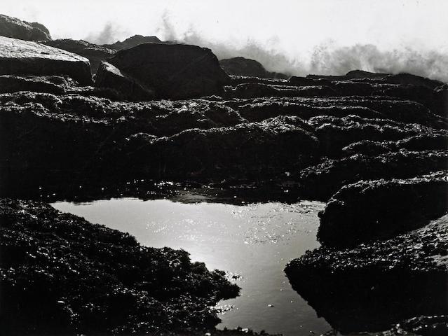 Ruth Bernhard (American, 1905-2006); Tide Pool;
