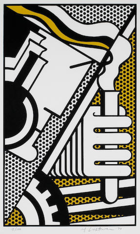Roy Lichtenstein (American, 1923-1997); Chem 1A;