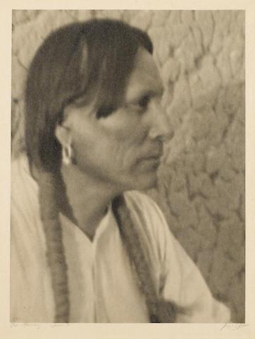 Ansel Adams (American, 1902-1984); Julian Martinez, San Ildephanso Pueblo, New Mexico;
