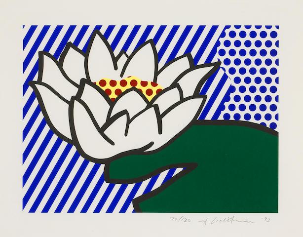 Roy Lichtenstein (American, 1923-1997); Water Lily;