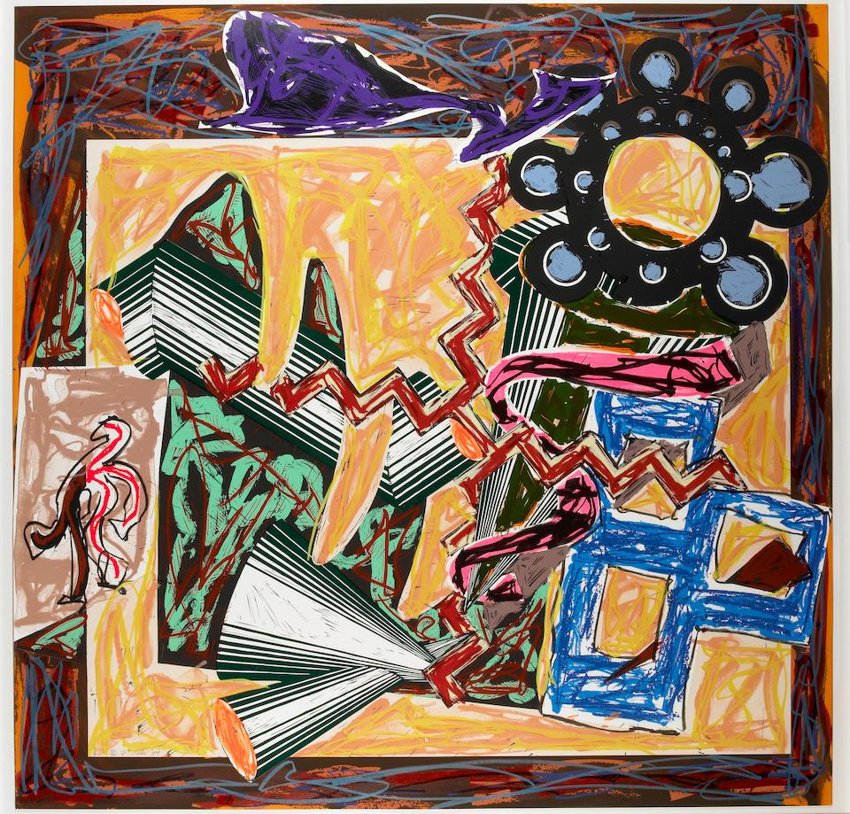 Frank Stella (American, born  1936); Illustrations after El Lissitzky's Had Gadya;