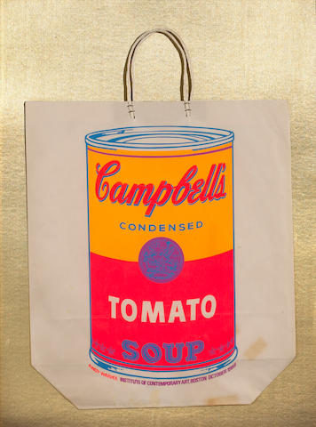 Andy Warhol (American, 1928-1987); Campbell's Soup Can (Tomato);