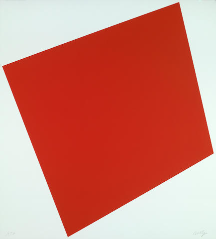 Ellsworth Kelly (American, born 1923); Red;