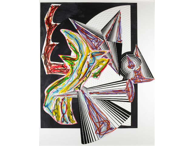 Frank Stella (American, born  1936); Illustrations after El Lissitzky's Had Gadya;