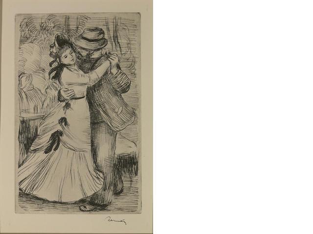 Pierre-Auguste Renoir (French, 1841-1919); La Danse à la campagne, 2 eme planche;