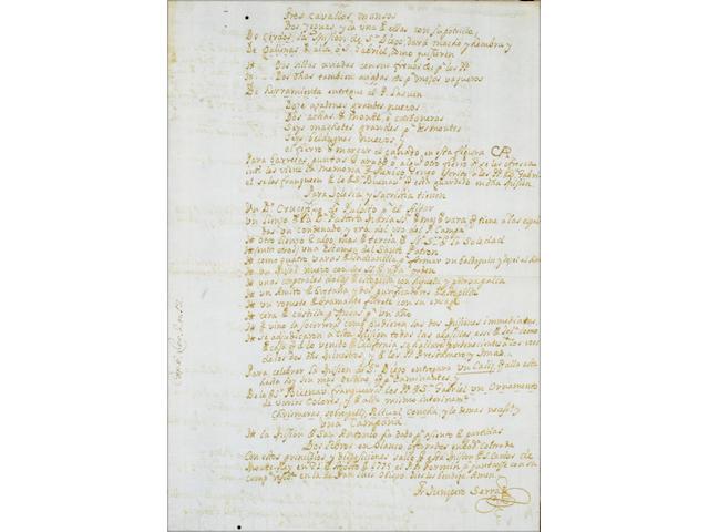 SERRA, JUNIPERO.  1713-1784.