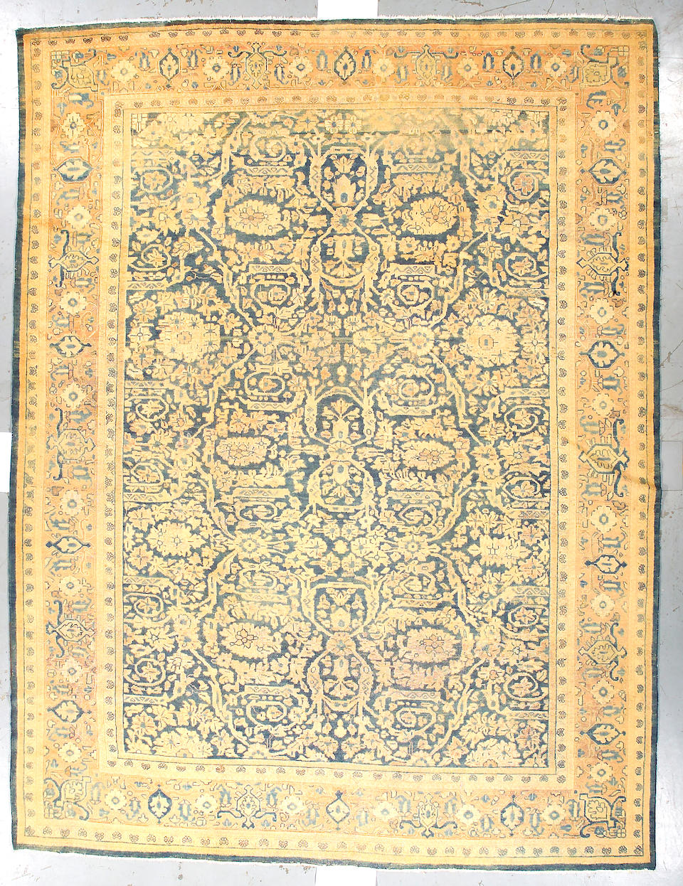 A Mahal carpet Central Persia, size approximately 10ft. x 13ft.