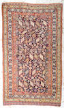 A Qashqa'i rug Southwest Persia, size approximately 4ft. 8in. x 8ft. 1in.