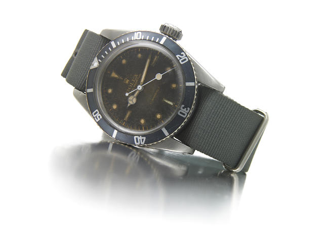"Rolex Oyster Perpetual Submariner, "" James Bond"" Ref 6538, serial 30756"